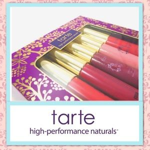 New TARTE 5-pc LipSurgence Wanderlust Lip Set